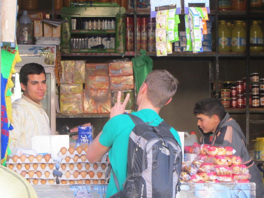 Het leven in Marokko is één grote onderhandeling (© Laurens)