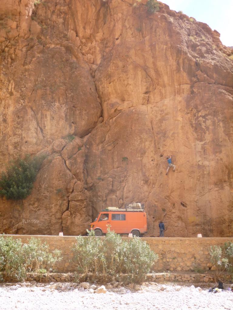 ''San surrana'' 7b, Sector Petit Gorges