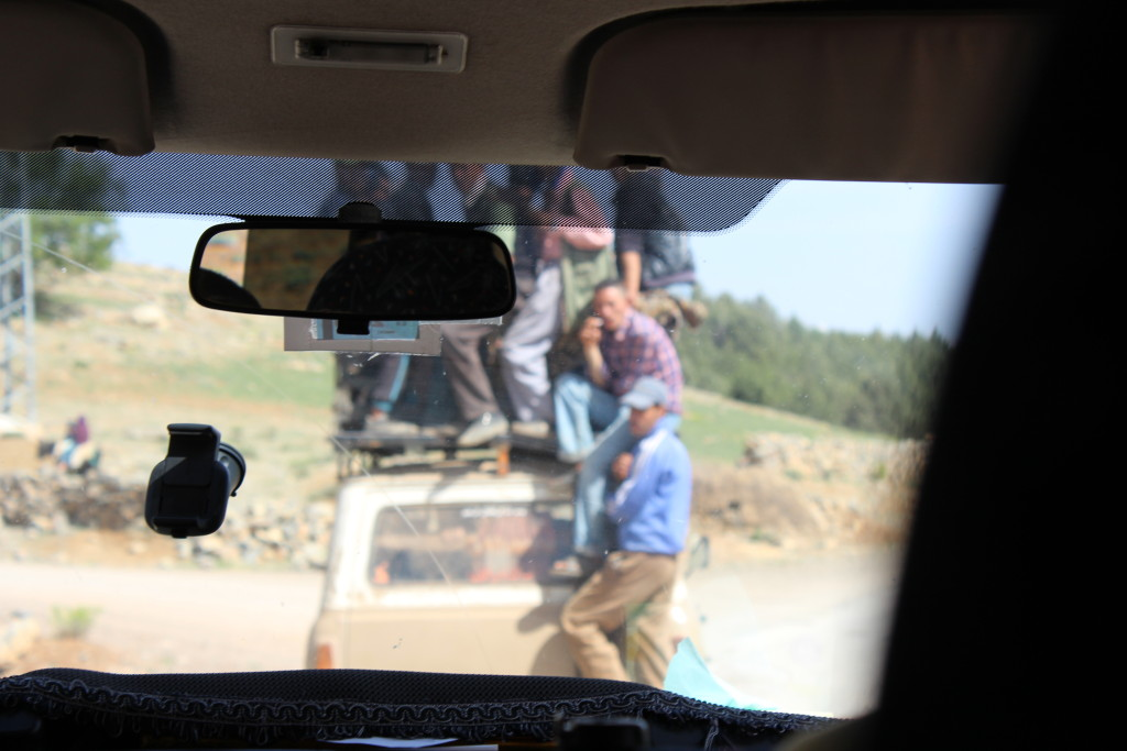 Onderweg naar Zaouiat Ahansal