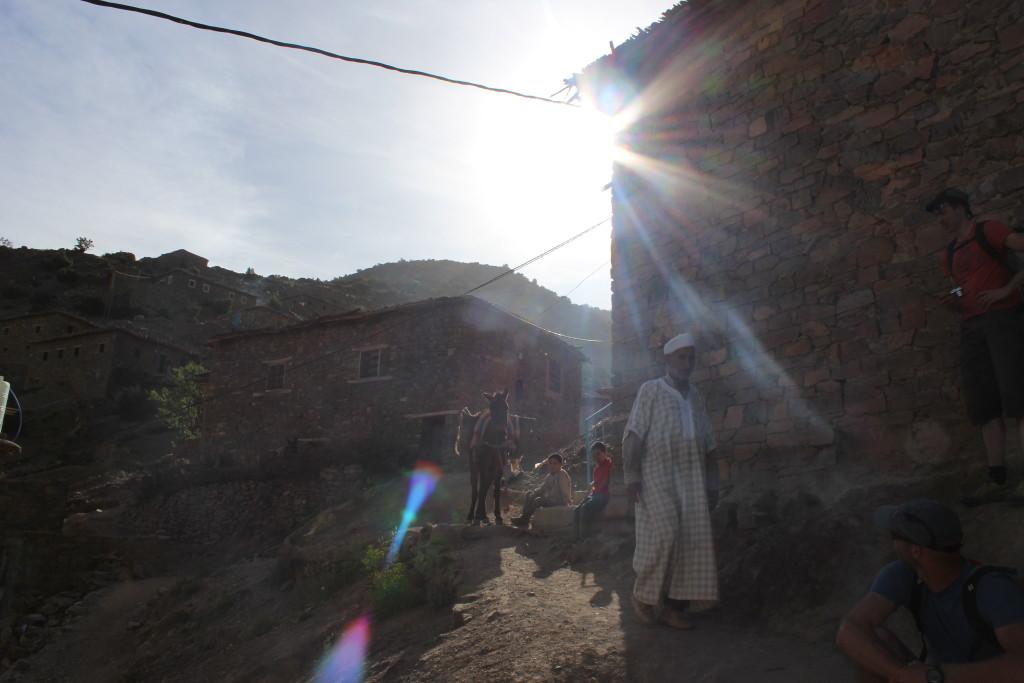 Ochtend in Zaouiat